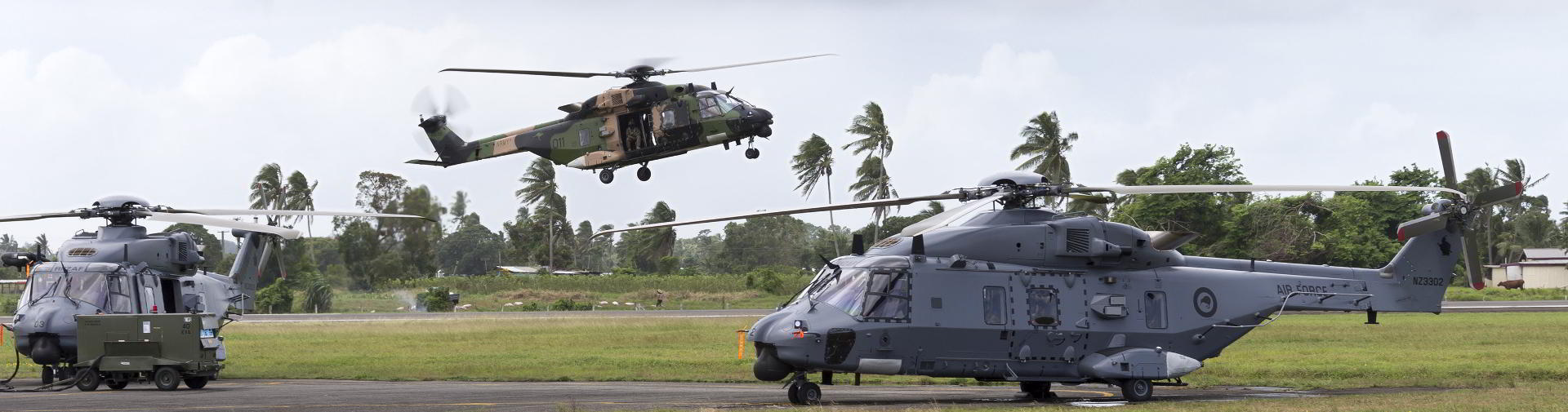 Defence helicopters
